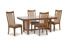 Bungalow Mission Table With 4 side chairs