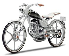 Motor-bike? It's pretty.
