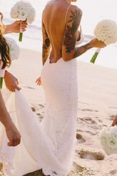 Wedding Magazine - 10 brides who show how you can rock your tattoos on your wedding day