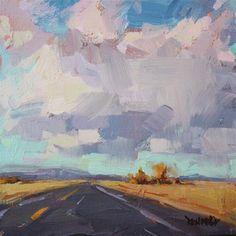 """Just North of Bend"" - Original Fine Art for Sale - � Cathleen Rehfeld"