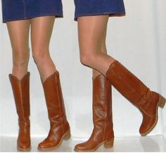 FRYE campus riding western cowgirl boots