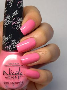 The Happy Sloths: Nicole by OPI Carrie Underwood Collection Nail Polishes: Review and Swatches
