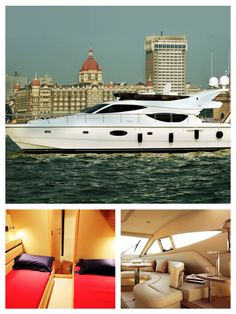 Spend some quality time by cruising around South Mumbai in Italian style Ferretti 550 V drive engine yacht. This one of a kind experience wherein you can reach speeds of 6 nautical miles along with 3 spacious interior cabins to sit back and relax.   Take this chance to soak into the leisure gathering or birthday or anniversary leaving behind the hustle and bustle of the day and enjoy exploration with comfort. This experience can cater to special corporate events and group of 12 people huge…