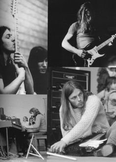Pink Floyd 1971 from the book Pink Floyd- The Black Strat