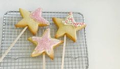 Magical Fairy Wand Biscuits - School Mum