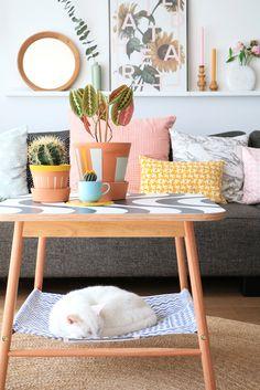 MY ATTIC / IKEA Hack / Cat hammock / diy Photography: Marij Hessel