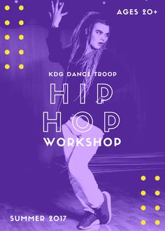 Learn how to maximize the color wheel for a standout flyer design. In this article, we give you 20 bold flyer ideas to help inspire your own flyer design. Hip Hop Dance Studio, Dance Class, Hip Hop Classes, Parenting Workshop, Dance Workshop, Flyer Design Inspiration, Design Ideas, Summer Poster, Cinema