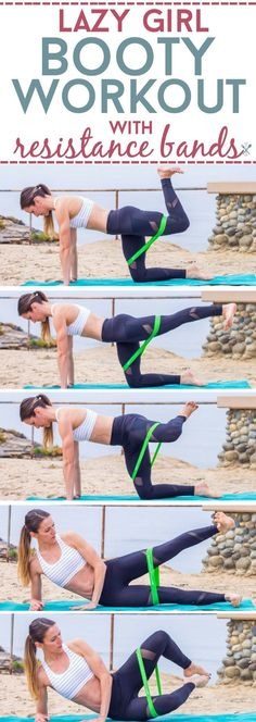 A barre-inspired booty workout without squats, stairs, deadlifts, or sprints. Resistance bands create a burn that will tone and sculpt, without even standing!