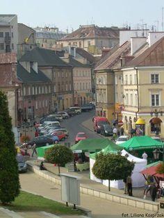 Old town, Lublin. Plac Zamkowy i ul. Kowalska