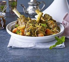 Tagine of lamb & merguez sausages recipe - Recipes - BBC Good Food