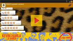 Roar (spanish version) - Kevin Karla & La Banda (Lyric Video)