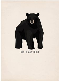 CUB Mr Black Bear - poster