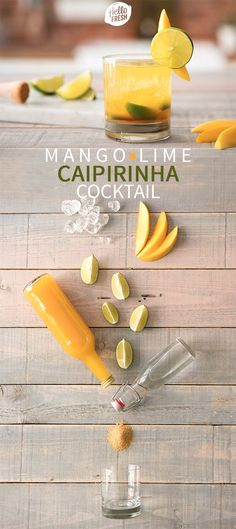 Kick off August and celebrate Brazil with their national drink CAIPIRINHA! We've put together a list of three easy caipirinha cocktail recipes: the tried-and-true classic, a marvelous mango variety, and one that's irresistible with passion fruit. In other words, time to samba! | More on blog.hellofresh.com