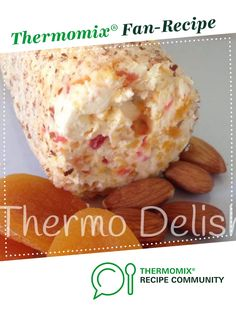 Recipe Apricot & Almond Cheese by Elisha Squire, learn to make this recipe easily in your kitchen machine and discover other Thermomix recipes in Sauces, dips & spreads. Sweet Recipes, Snack Recipes, Cooking Recipes, Dip Recipes, Cooking Tips, Cream Cheese Ball, Bellini Recipe, Thermomix Desserts, Cheese Ball Recipes