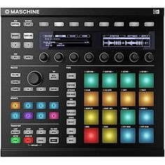 Native-Instruments-MASCHINE-MK2-Black