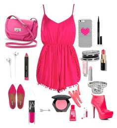 """""""Going on a date"""" by kylee2005 ❤ liked on Polyvore featuring beauty, Boohoo, Rosetti, BaubleBar, Merkury Innovations, Elizabeth Arden, Jigsaw, Bobbi Brown Cosmetics, Adina Reyter and GUESS"""