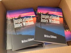 My new book inspirational Inner wisdom out now. A book to help guide you on your journey and tap into your own inner wisdom.