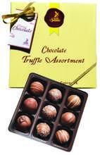 "Sjaak's ""Milk"" Chocolate Truffle Assortment"