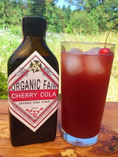 Summer has a new friend! Introducing our new cherry cola soda syrup. Real organic cherry flavour in a authentic cola. Cherry Cola Soda Syrup.