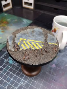 Painting Concrete Bases