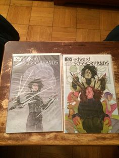 My first two Edward Scissorhands comic issues.
