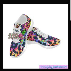 Multicoloured Vs Leopard print equals heaven 😇 Rave Shoes, Casual Wear, Casual Shoes, Festival Outfits, Heeled Mules, Combat Boots, Trainers, Slip On, Running