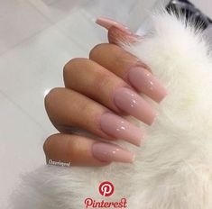 In look for some nail designs and some ideas for your nails? Listed here is our set of must-try coffin acrylic nails for trendy women. Nude Nails, Aycrlic Nails, Hair And Nails, Coffin Nails, Nails 2016, Uv Gel Nails, Best Acrylic Nails, Acrylic Nail Designs, Pedicure Nail Designs