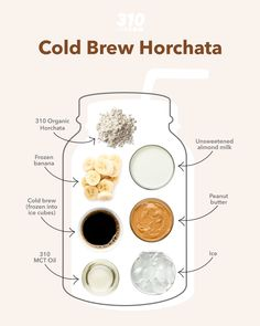Give your brain and body a boost of nutrition and energy with this mouthwatering Cold Brew Horchata Shake! It's the ideal quick breakfast or afternoon pick-me-up that will keep you satisfied and focused. Protein Powder Recipes, Protein Shake Recipes, Protein Shakes, Yummy Drinks, Healthy Drinks, Horchata, Unsweetened Almond Milk, Frozen Banana, Cold Brew