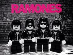 Ramones in lego