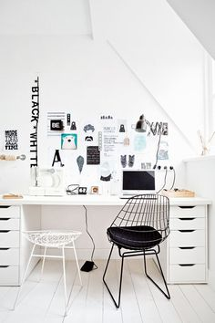 28 Work Seamlessly in a Scandinavian Home Office Now For those working from home, comfort and seamless navigation are some of the most crucial aspects. See our Scandinavian home office ideas fulfill those. Home Office Space, Home Office Design, Home Office Decor, Office Furniture, Home Decor, Office Designs, Office Ideas, Office Spaces, Desk Space