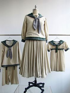 """Costumes for """"The Sound of Music"""". www.tdf.org/costumes"""