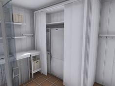 vaskerom Bathroom Inspiration, Tall Cabinet Storage, Closet, Furniture, Home Decor, Velvet, Armoire, Decoration Home, Room Decor