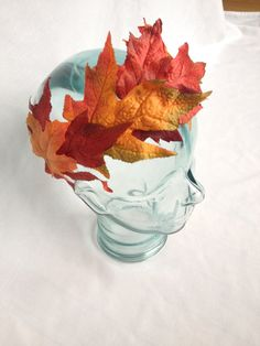 This vibrant maple leaf headband is perfect for the essential earthy, boho look for fall.