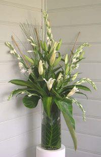 wedding table flowers 1