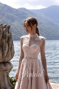 Buy Wedding Dress Pentelei 5028 with delivery . Eve Of Milady Wedding Dresses, Buy Wedding Dress, Wedding Dress Sleeves, Wedding Gowns, Nice Dresses, Girls Dresses, Flower Girl Dresses, Bridal Nightgown, Bridal Collection