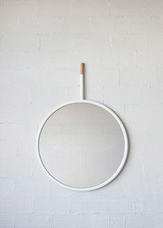 hang mirror by la mamba studio