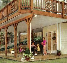 DrySnap Under Deck Rain Carrying System : Rich's Home Exteriors, LLC : Vinyl Siding, Roofing, Replacement Windows & Doors.