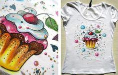 Moje maľované tričká pre bábätká a detičky... - Album užívateľky zeiko | Modrykonik.sk