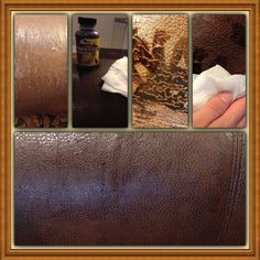 how to fix leather cracks on chair