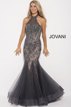 a2bd0defd2 Jovani 55261. Backless Mermaid Prom DressesProm ...