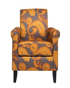 This chair is gorgeous and is such a unique piece to add to any sitting room in your home!