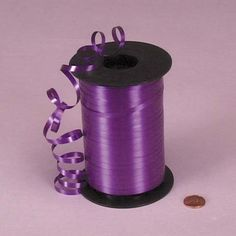 Purple Curling Ribbon, 3/16' X 500Yd by Paper Mart * Check out this great product.