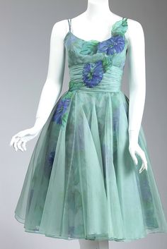 Batiste dress made by Josephine Scullin, ca. 1957