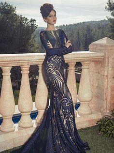 Enamorada de este vestido Glamorous Oved Cohen Evening Dresses 2014 - Be Modish - Be Modish Evening Dress Long, Glamorous Evening Dresses, Stunning Dresses, Beautiful Gowns, Elegant Dresses, Pretty Dresses, Sexy Dresses, Beautiful Outfits, Evening Gowns