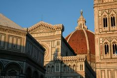 Cúpula construida por Filippo Brunelleschi, de la Catedral de Florencia o Santa María de las Flores.