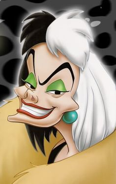 cruella deville costume - Google Search