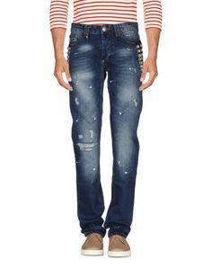 PHILIPP PLEIN Denim trousers. #philippplein #cloth #top #pant #coat #jacket #short #beachwear