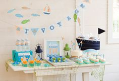 by the sea themed party