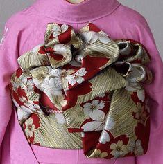 イメージ 3 Obi One, Yukata, Japanese Kimono, Geisha, Asian Fashion, Traditional Outfits, Burlap Wreath, Pattern Design, Culture