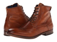 fc79fce5a894 Dune London Cobbler Tan - 8.5 (2nd) Mens Brogue Boots